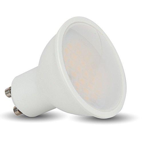 1685 5 W GU10 Led Strahler Spot Einbaulampe 220 - 240 V SMD LEDs 3000 Kelvin warmweiß VT-1975
