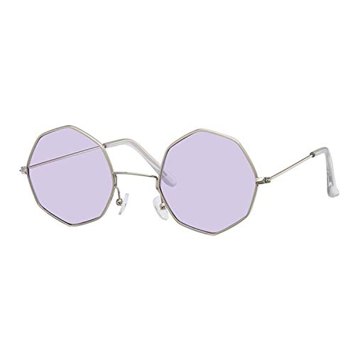 WERERT Sportbrille Sonnenbrillen Sunglasses Women Men Ladies Small Square Sunglasses Female Metal Frame Driving Fishing Glasses