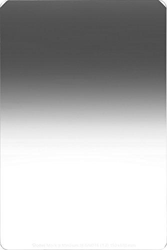 Rollei Profi Rechteckfilter Mark II - Grauverlaufsfilter (150x170 mm) mit mittlerem Verlauf aus Gorilla Glas - Medium GND 16 (4 Stops/1,2) 150 mm-System