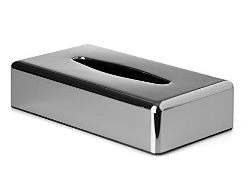 Chrom Tissue Box Cover (Taschentuchspender, rechteckig oder quadratisch, Chrom-Finish, Oblong/Rectangle)