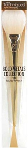 Real Techniques Bold Metals 100 Pinceau poudre arrondi