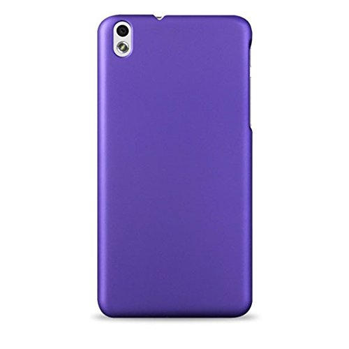 WOW Imagine(TM) Rubberised Matte Hard Case Back Cover For HTC DESIRE 816 / 816G (Party Purple)