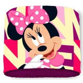 Minnie mouse sciarpa in pile, sciarpa tubolare,foulard,disney