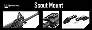 Magpul PTS (Airsoft) support rail pour lampe/laser adaptable sur gardemain MOE & MASADA ACR (MOE scout Mount) - Dark Earth