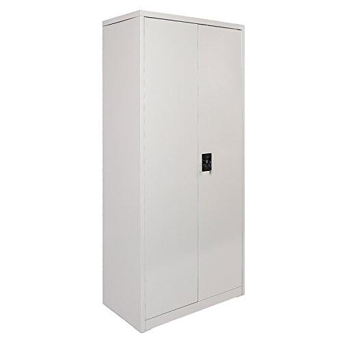 Spind mit 2 Türen Abteile Kleiderspind Umkleidespind Stahlschrank Putzmittelschrank