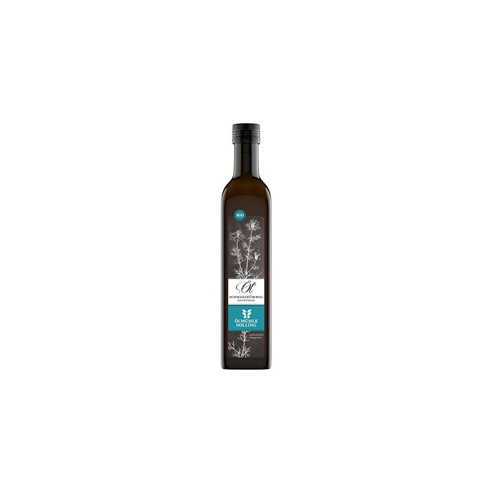 Lmhle Solling Schwarzkmmell Gyptisch Nigella Sativa Nativ Kaltgepresst 500ml Bio