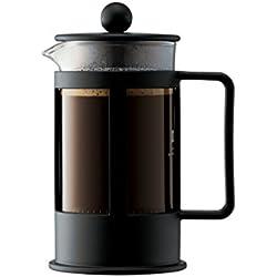 Bodum - 1783-01 - Kenya - Cafetière à Piston - 3 Tasses - 0.35 L - Noir