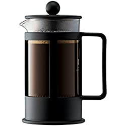Bodum Kenya Cafetera émbolo, Negro, Transparente, Centimeters