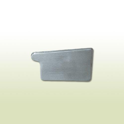 Zink Rinnenboden kastenform RG 500 mm rechts