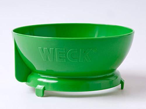 Weck Einfülltrichter Kunststoff, Grün, 15.4 x 14.4 x 7 cm