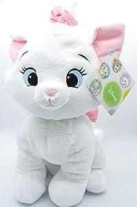 Disney-PTS Peluche Marie Cat aristogatos cm., Color Blanco, 1