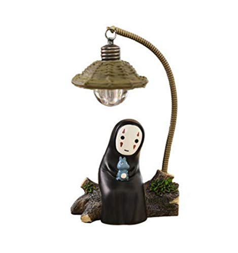 Spirited Away No Face Man Little Night Lamps Resina Muebles Para El Hogar Adornos Best Gift Home Decor Craft