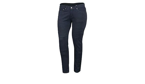 fianchi  in Kevlar S Black da donna Nero 38R Jeans moto rinforzi in tessuto denim impermeabile
