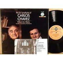 The Six Symphonies of Carlos Chavez / 3D-VCL 9032