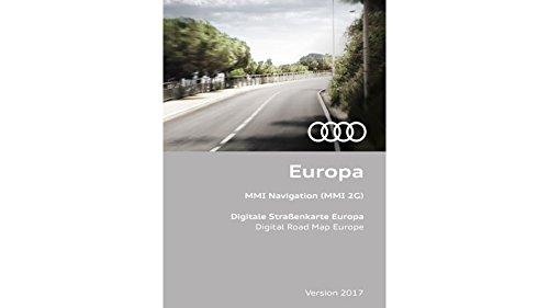 Preisvergleich Produktbild Audi Navigationsupdate MMI 2G Europa 2 DVDs