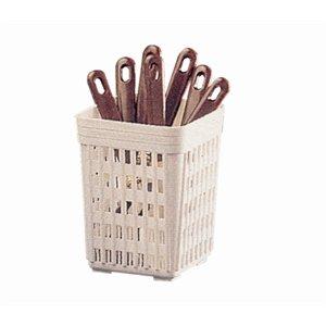 Cestello per posate quadrato 140x 110x 110MM porta utensili da cucina cucchiaio vassoi