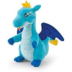 Trudi - Peluche electrónico mini dragón, color celeste (52430)