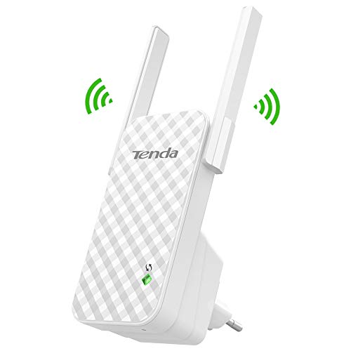 Tenda A9 N300 Extensor WiFi repetidor 300Mbps Red