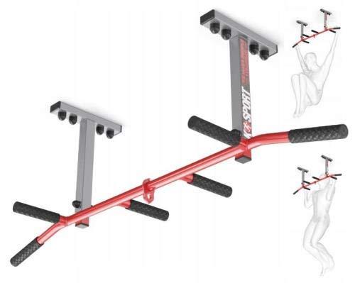 QLS KLIMMZUGSTANGE AUS Stahl DECKENMONTAGE OBERKÖRPER Training SCHLINGENTRAINER Gym BIS 250KG ZUR DECKENMONTAGE 1 ST.