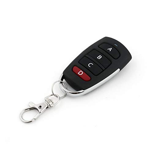Universal Wireless Remote Control Key 4 Buttons 433MHz Electric Garage Door Security Alarm System Controller Key Car Keys Garage Door Remote