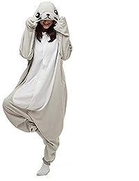 054f2ca03b HSTV Animal Cosplay Pijama Disfraz León Marino Unisexo Adulto Kigurumi Ropa  De Dormir