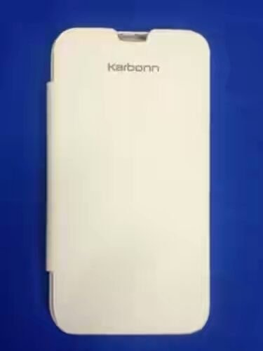 Karbonn Smart A9+ white Panel Flip Cover Case  available at amazon for Rs.99