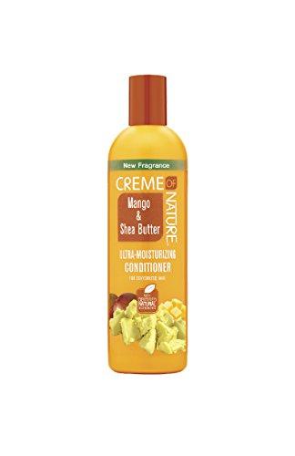 CREME of Nature Mangue et beurre karité Ultra Après-shampoing Hydratant, 12 oz