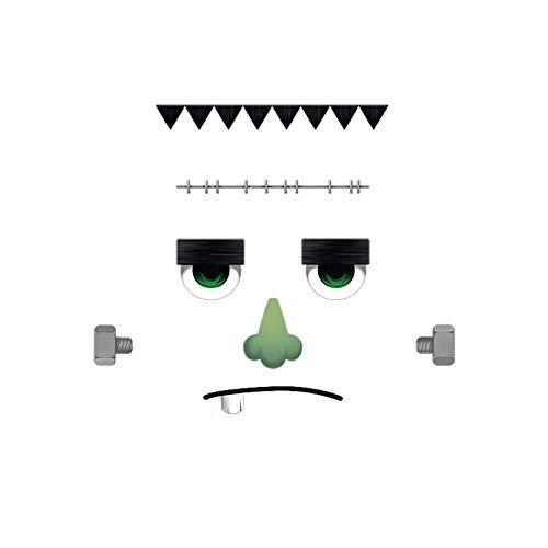 Oliver's Labels Frankenstein Türmonster Halloween Deko Aufkleber