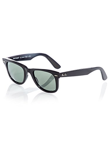 Ray-Ban Wayfarer RB2140 901 50 Black Green