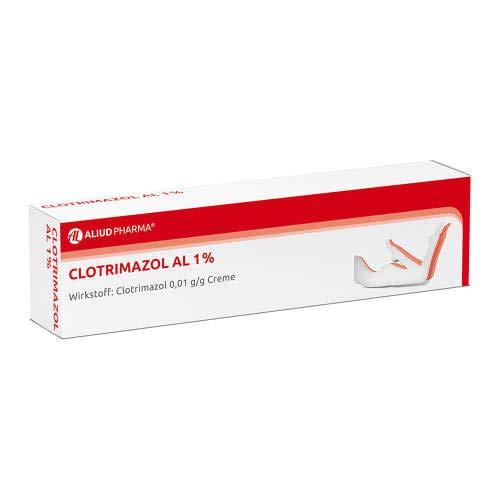 Clotrimazol AL 1{76c494e6b05945a3f12511088bffaf885c2db843544b82503860d92300da20ab}, 50 g Creme