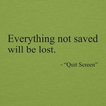 TEXLAB - Everything not saved will be lost - Damen T-Shirt Kiwi