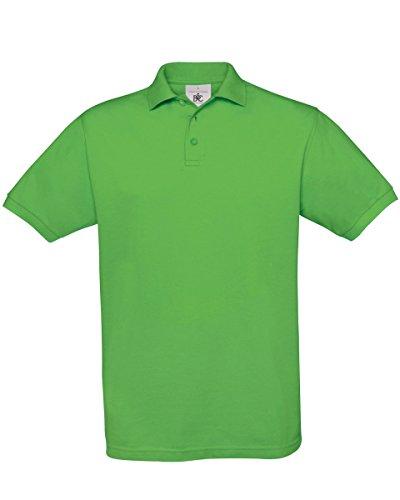 B & C Safran Men's Polo Shirt - Real Green