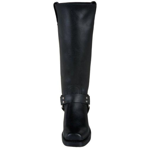 Harnais frye bikerboot/15r, bottes femme Noir - Noir