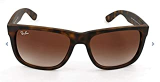 Ray-Ban - Justin Wayfarer Lunettes de Soleil - Marron (Light Havana Rubber 710/13) - 54 mm (B005454EZ8) | Amazon Products