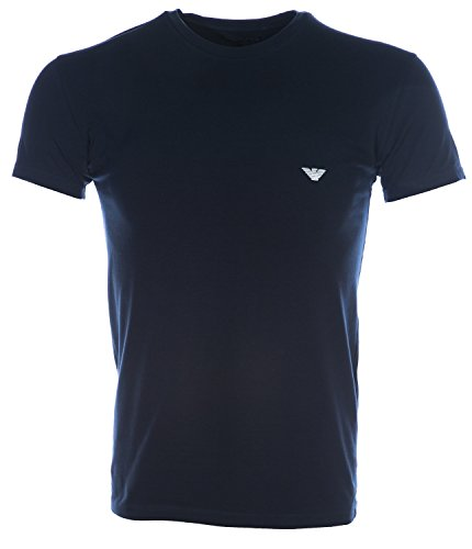 Emporio Armani Men's Shiny Logo T Shirt