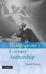 Shakespeare's Literary Authorship by Patrick Cheney (2008-06-26)