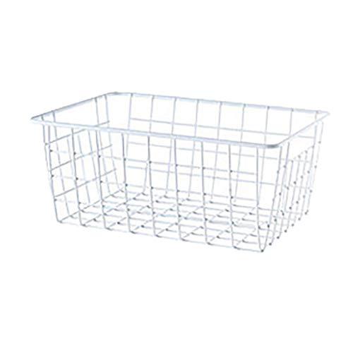 Rifuli Hierro Alambre Almacenaje Canasta Organizador Baño/Cocina/Lavandería Múltiples propósitos