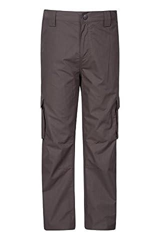 Mountain Warehouse Pantalon Enfant Trek Hiver Chaud Marron 13