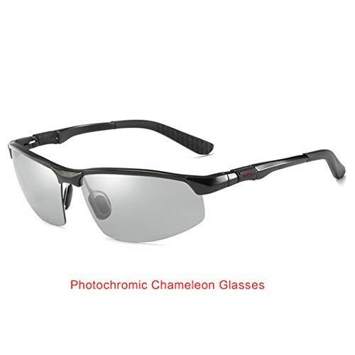 Altruism Photochrome Sonnenbrillen Männer Polarisierte Chamäleon Brille Männlich Ändern Farbe Sonnenbrille HD Tag Nachtsicht Fahren Brillen