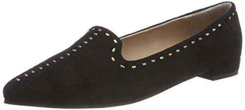 Shoe The Bear Damen Zola Loafer Slipper, Schwarz (Black 110), 39 EU Dressy Pant Schwarz