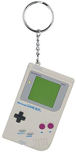 Nintendo Game Boy Keyring grey