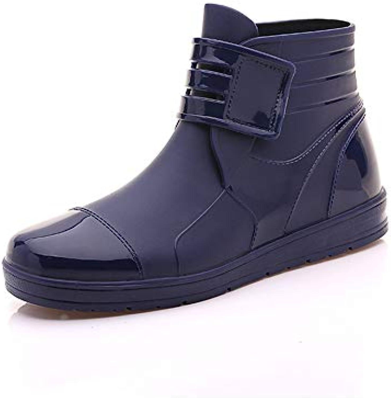Hombres Zapatos de Goma,Calzados Deportivo,Car Wash,Impermeable,Antideslizante,Resistente al Desgaste,Zapatos...
