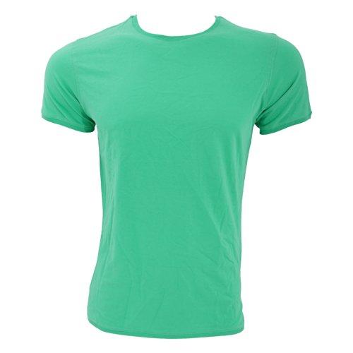 B&C Paradise Flamingo Herren T-Shirt, Kurzarm, Rundhalsausschnitt Grau