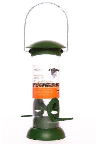 Chapelwood Samen-Futtersäule mit Klickdeckel, 20 cm
