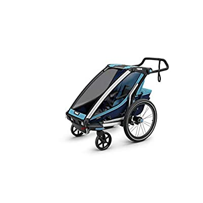 Thule Unisex Baby 1 Chariot Cross 1, Chariot Cross 1, blue, One Size