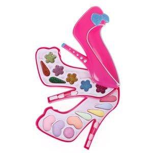 Tradico® TradicoBrand New Makeup Toy Kit Set Cosmetics Eyeshadow Box Kids Girls Party Gift Toy qk