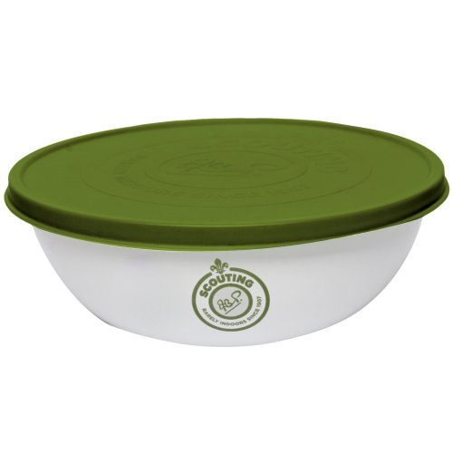 Price comparison product image True Brands Ltd Scout Enamel Bowl with Lid - White