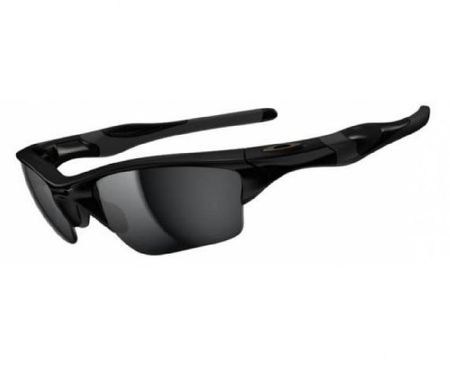 53016dadb0 Oakley Mens Half Jacket 2.0 XL OO9154-01 Iridium Sunglasses,Polished Black  Frame/