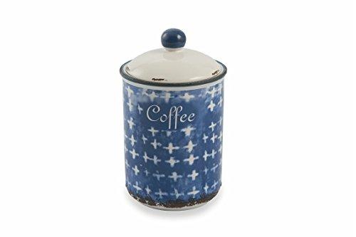 Villa d 'Este Home Tivoli 2416490Dose Kaffee, Steingut, Blau