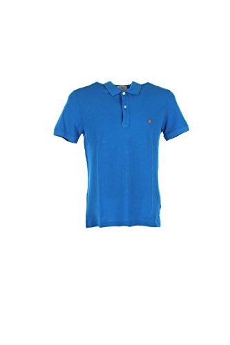 Brooksfield Herren Poloshirt Azzurro